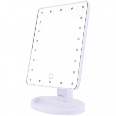 22 Led Lighted Vanity Mirror White Catalog