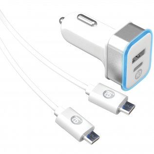 DigiPower IS-AC3D InstaSense 3.4A 17W Dual USB Wall Charger No Cables Consumer electronics